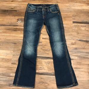 4e7c5bed Women Silver Frances Jeans Size 18 on Poshmark